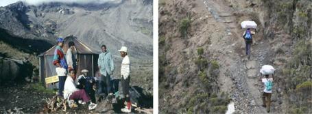 Mount Kilimanjaro Porters