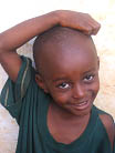 Street child Michael Musa